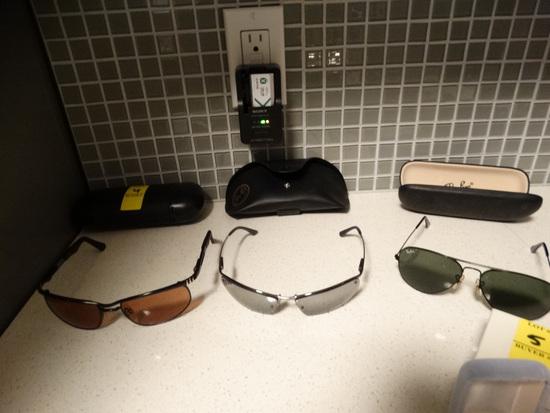 RAYBAN and SERGENTI Magellan Sunglasses