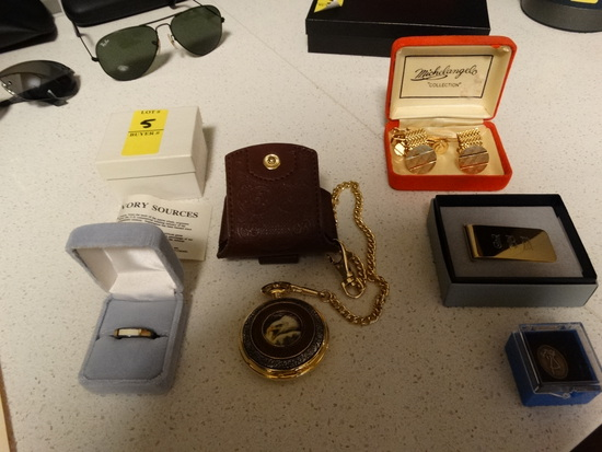 SMALL Group lot of men's jewelry