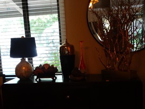 Lamp, Vase, Artificial Coral decoration
