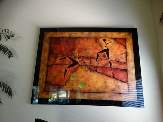 "Abstract Artwork ""Dancing in the Streets"""
