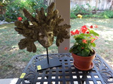 CORAL Man decoration and outdoor living plant