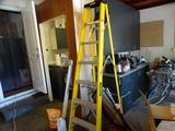 Stanley 6 ft. Fiberglass Ladder