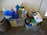 Small Group of Yard and Garden Supplies