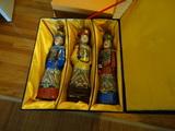 Asian Statues 3 piece set