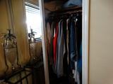 Clothing in Closet