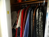 Contents of clothing in Hall closet