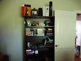 Shelving Unit with Contents