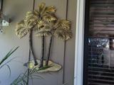 2 Outdoor Metal Decorations