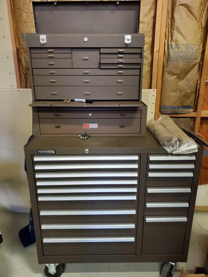 Kennedy and Craftsman Toolbox Combo