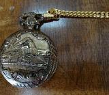 Geneva Railroad Pocket Watch