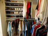 All Clothing in Master Bedroom Closet