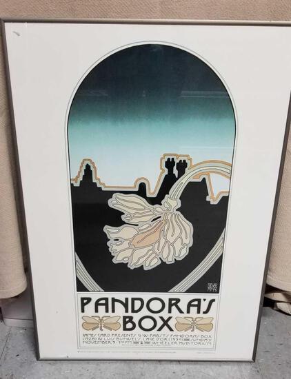 VINTAGE Pandora's Box Poster