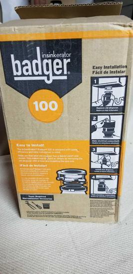 Badger Garbage disposal