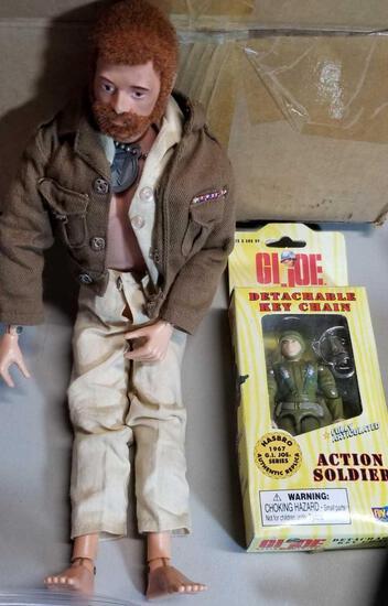 Vintage GI JOE Action Figure and accessories