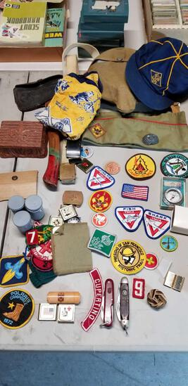 Boy Scout Memorabilia