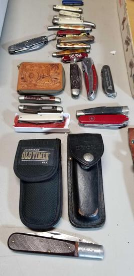Group Lot Pocket Knives