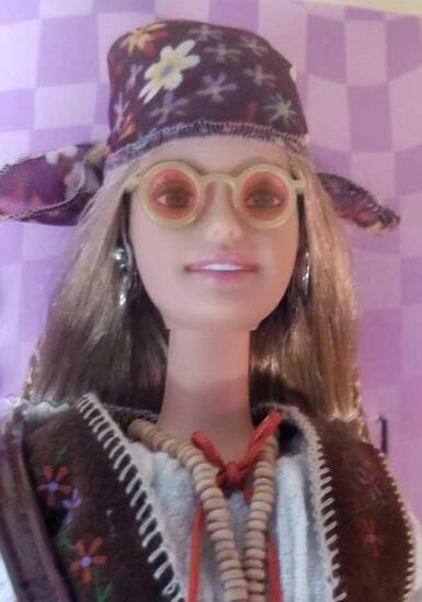 1970s Peace and Love Barbie