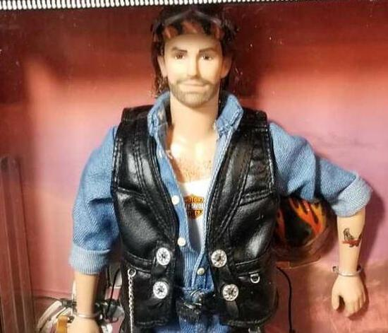 Harley Davidson Ken Doll