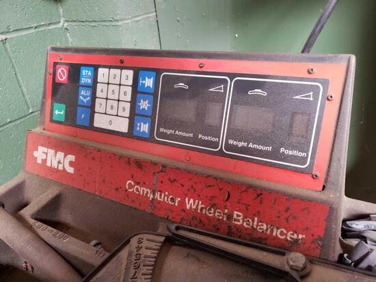 FMC Computer Wheel Balancer