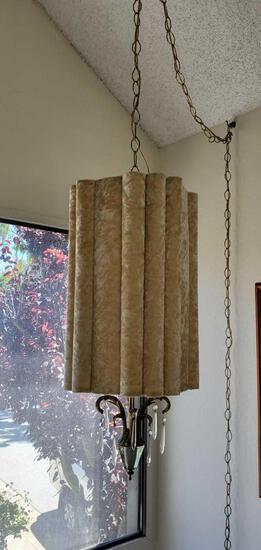 Mid-Cen Hanging Lamp