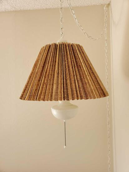 Small Bamboo Hanging Lamp
