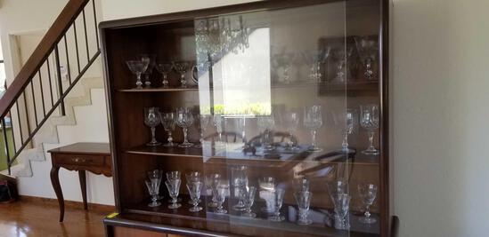 25 pcs Crystal and Glass Stemware