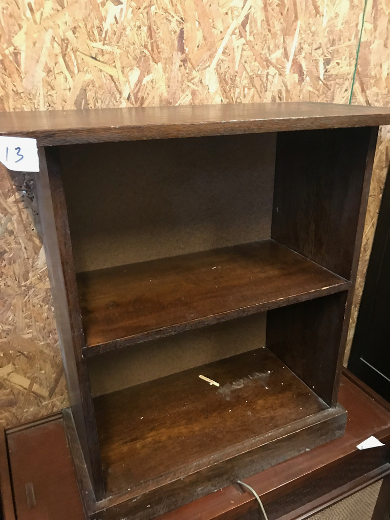 Solid Wood Bookshelf With Fixed Shelves 28 Inches Wide 30 Tall