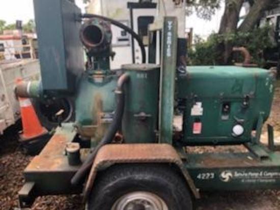 Hatz 8in Water Pump
