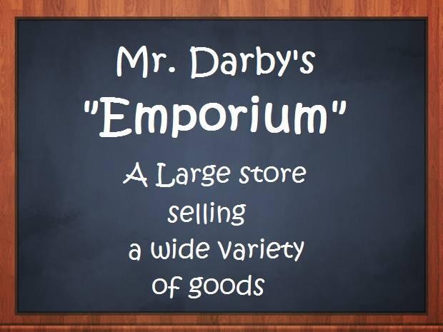 Mr. Darby's Emporium