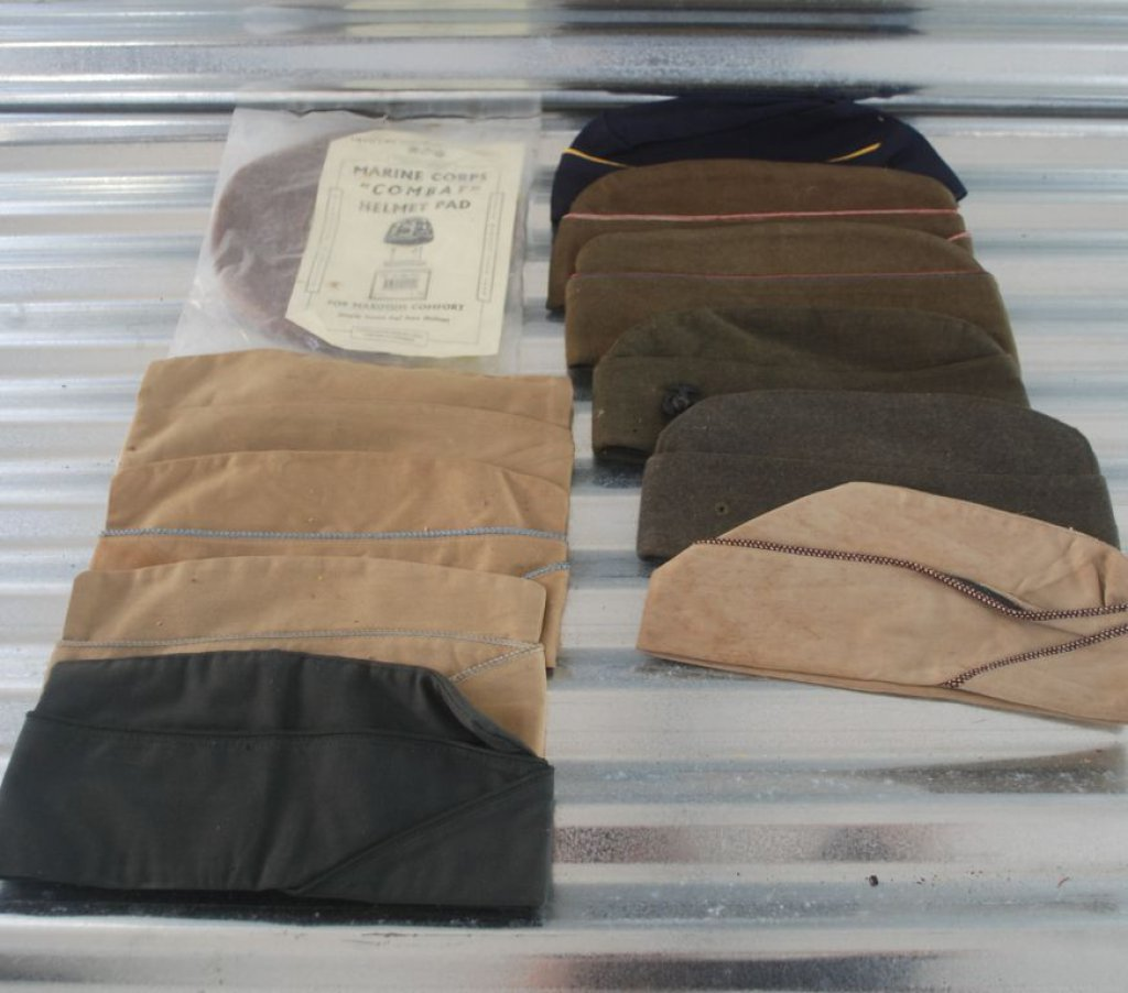 Large Lot Military Hats