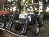Case Tractor w/ load and bush hog