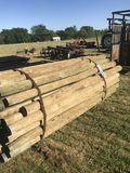 55ct 3x7 wood post