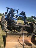 New Holland TN70 Tractor w/ Bucket