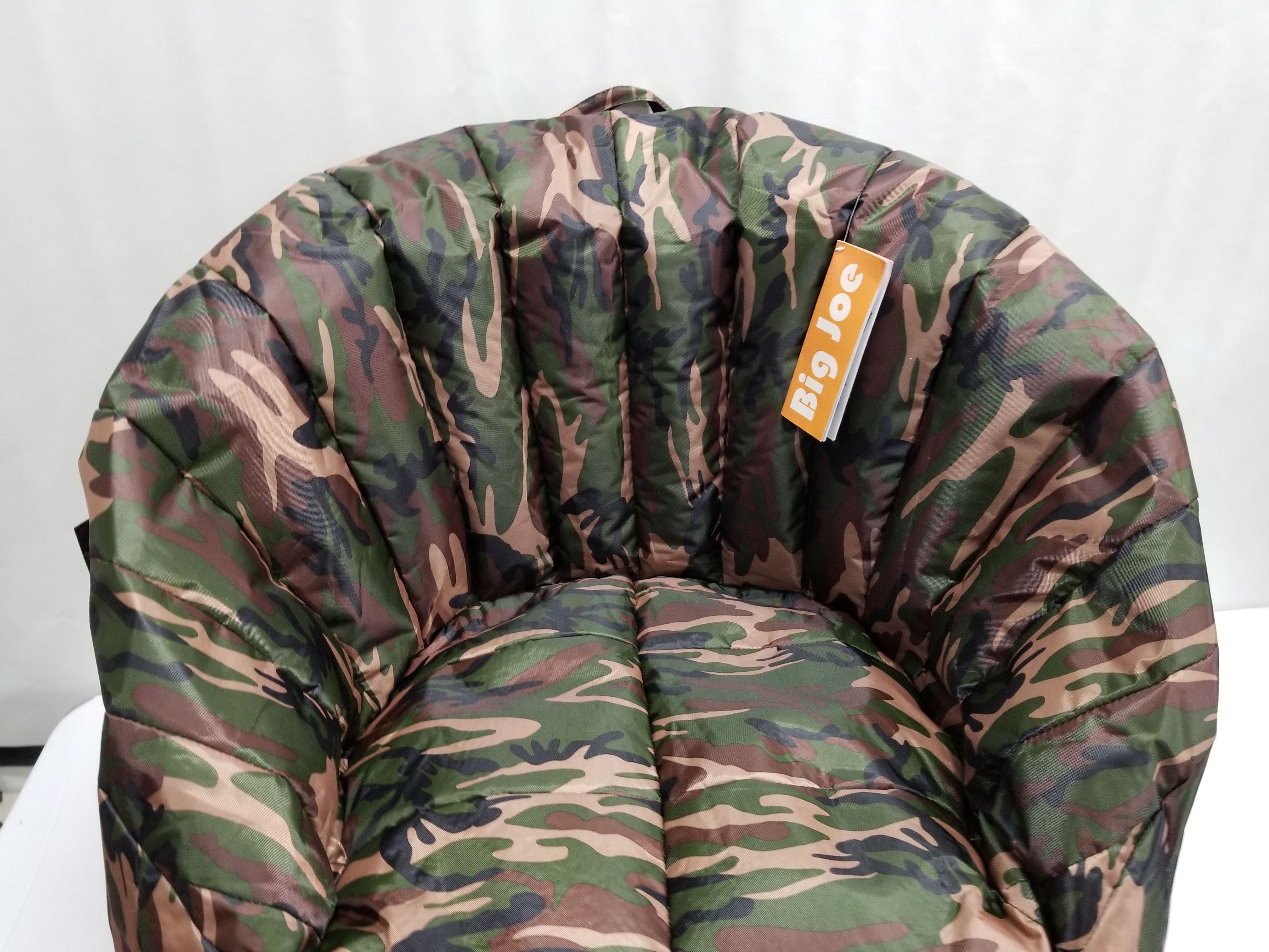 Fantastic Big Joe Bean Bag Chair Camo Lumin 35L X 35W X 32H Spiritservingveterans Wood Chair Design Ideas Spiritservingveteransorg