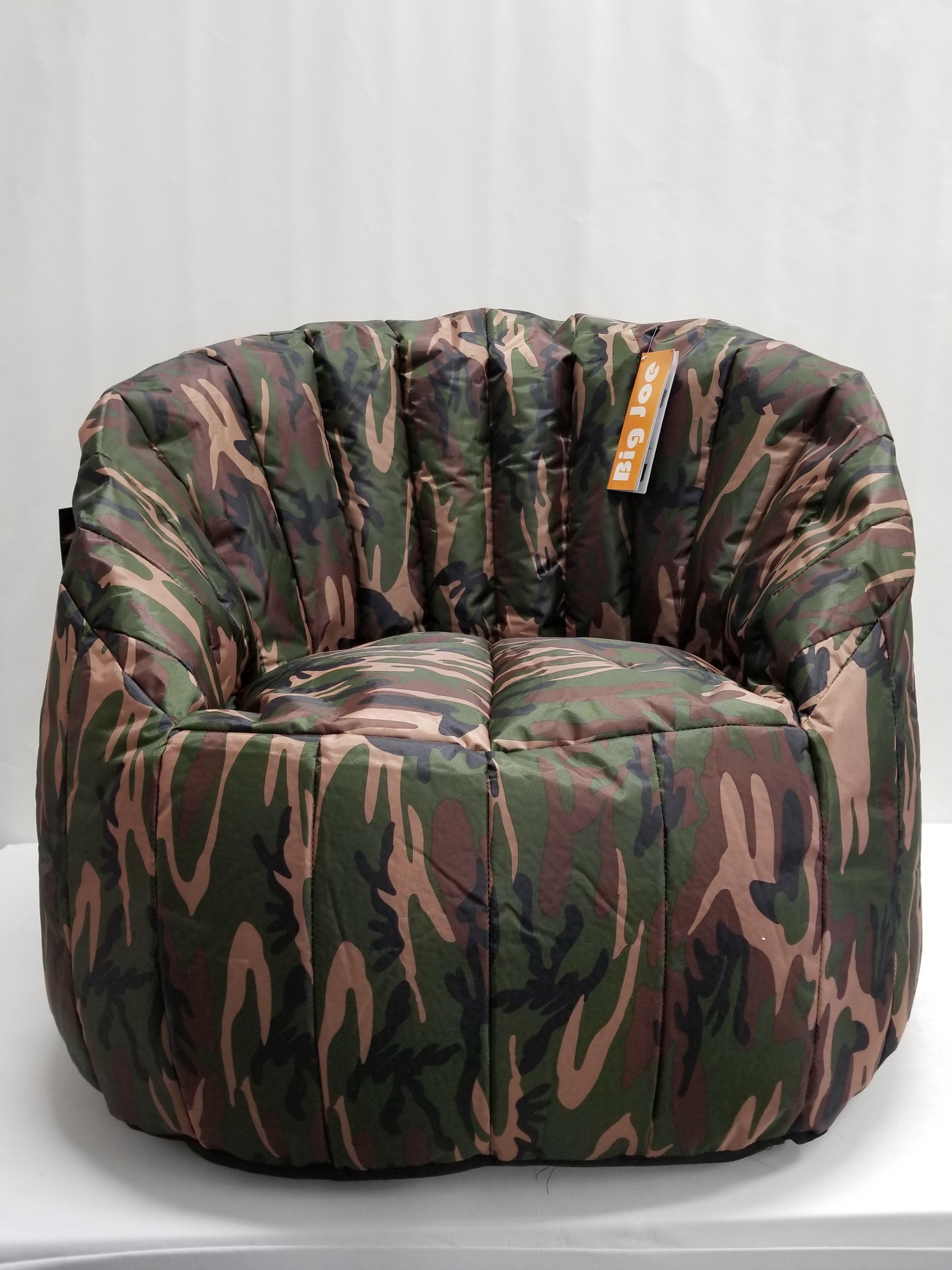 Pleasant Big Joe Bean Bag Chair Camo Lumin 35L X 35W X 32H Spiritservingveterans Wood Chair Design Ideas Spiritservingveteransorg