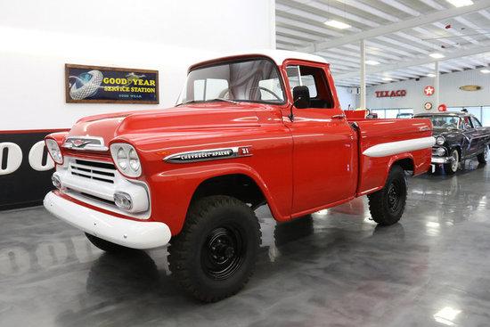 1959 Chevrolet Apache NAPCO 4X    Auctions Online | Proxibid