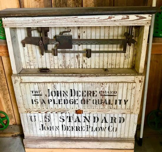 U.S. Standard Scale w/John Deere Wooden Display
