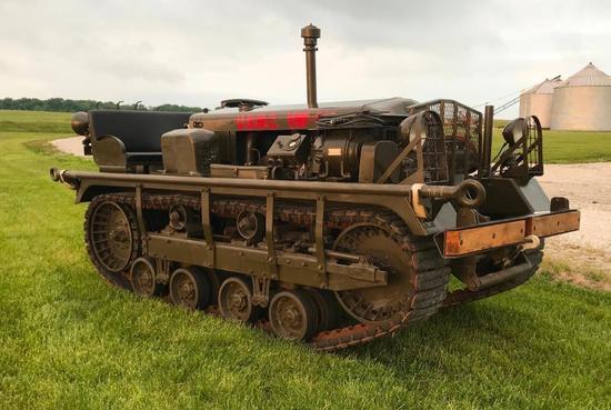 1942 Cleveland M2 Cletrac Tug