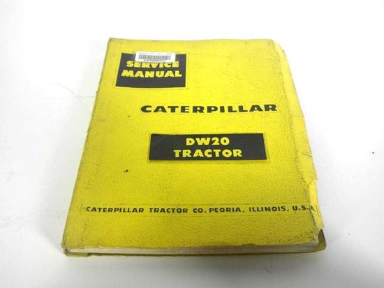 Cat Service Manual DW 20
