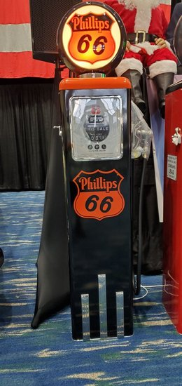 1951 Phillip 66 Gas Pump Reproduction