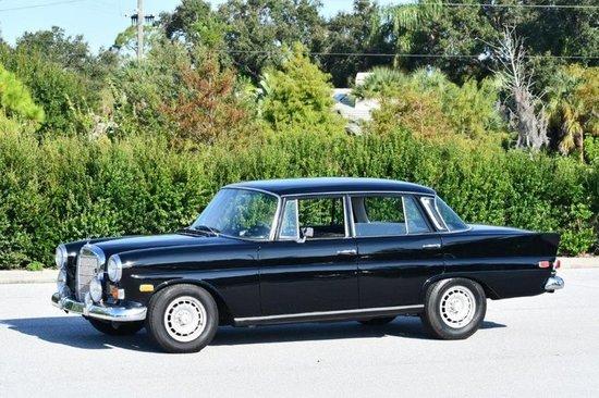 1968 Mercedes-Benz 230 Four Door Sedan