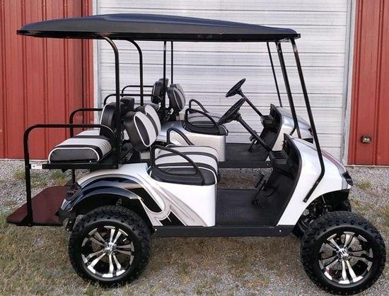 2016 Custom Four Seater Golf Cart