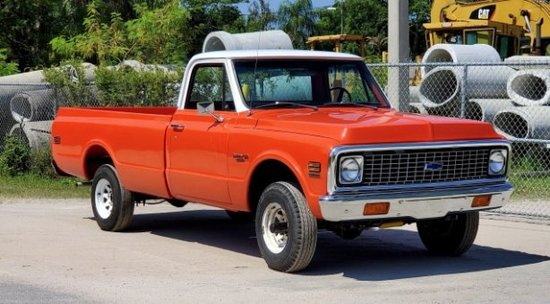 1972 Chevrolet C10 Long Bed Pickup