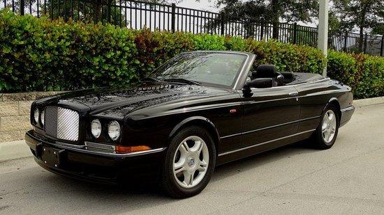 2001 Bentley Azure Mulliner Convertible