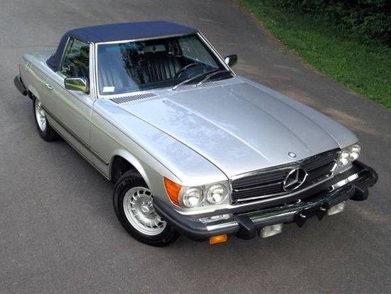 1982 Mercedes-Benz 380SL Roadster
