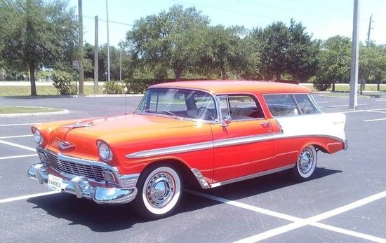 1956 Chevrolet Nomad Restomod