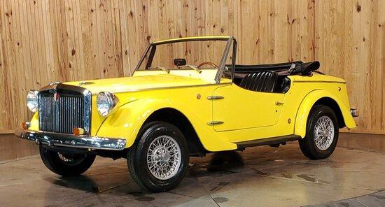 1969 Fiat Siata Spring Roadster