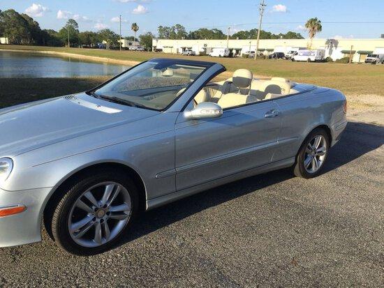 2008 Mercedes-Benz CLK Convertible
