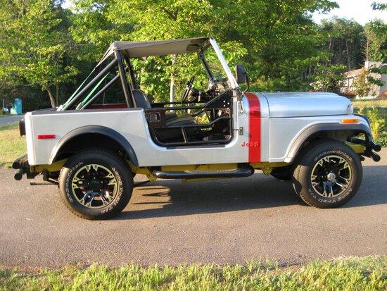 1980 Jeep CJ 7 4 X 4