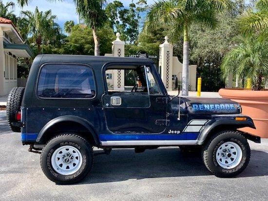1983 Jeep CJ 7 Renegade